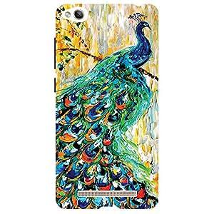 Peacock - Mobile Back Case Cover For Xiaomi Redmi 3S Prime
