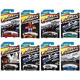 ホットウィール ワイルドスピード Fast & Furious 2015 8種セット [並行輸入品]