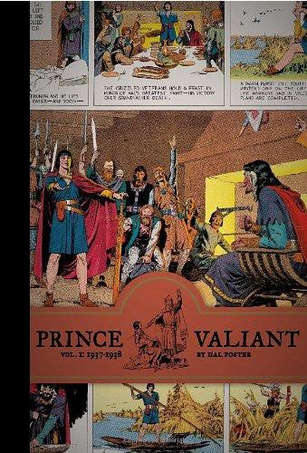Prince Valiant HC 01 1937-1938 (Prince Valiant (Fantagraphics))