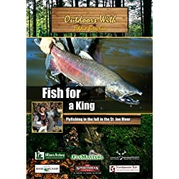 Outdoors with Eddie Brochin Fish for a King Flyfishing in the fall in the St. Joe River