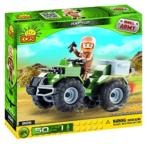 COBI Small Army Raptor Construction Vehicle - 1