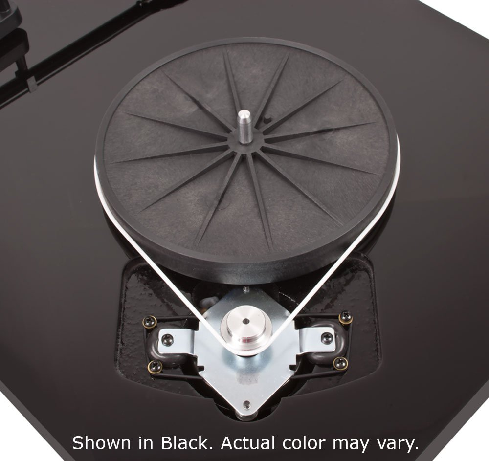 Project Debut Carbon Turntable Platter Speed Change