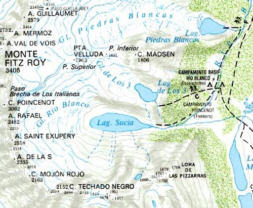 Monte Fitzroy and Cerro Torre