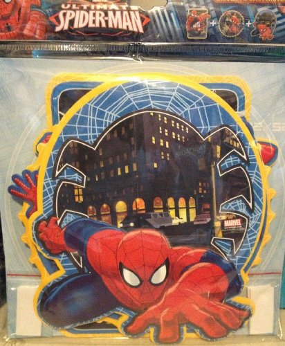 Spider man Wall Gel Stickers, Reusable Set of 3