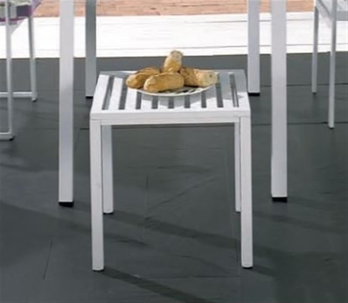 gartentisch beistelltisch balke taiwan 50 x 50 wei kaufen. Black Bedroom Furniture Sets. Home Design Ideas