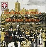 echange, troc  - Richard Arnell : Lord Byron, Un Portrait Symphonique Op.67 - Thomas F.Dunhill...