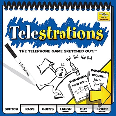 Telestrations 8 Player - The Original from USAopoly