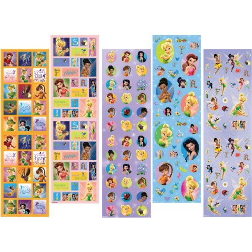 Disney Fairies Stickers (10 sheets) - 1