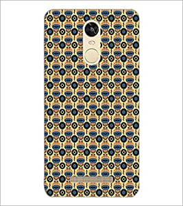 PrintDhaba Pattern D-5192 Back Case Cover for XIAOMI REDMI NOTE 3 (Multi-Coloured)