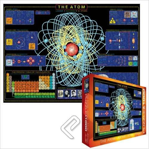 Picture of Eurographics The Atom Jigsaw Puzzle 1000pc (B001AUIMCC) (Jigsaw Puzzles)