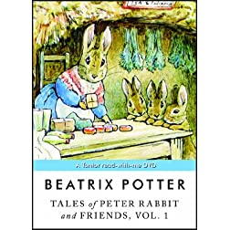 Tales of Peter Rabbit and Friends, Vol. 1: A Tantor read-with-me DVD