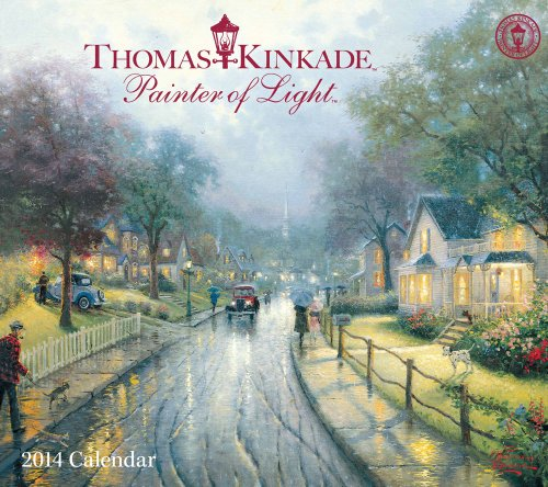 Thomas Kinkade Painter of Light 2014 Deluxe Wall