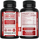 Premium Horny Goat Weed Extract with Maca & Tribulus, Natural Performance & Libido Boost Complex for Men & Women, 1000mg Epimedium with Icariins, Veggie Capsules