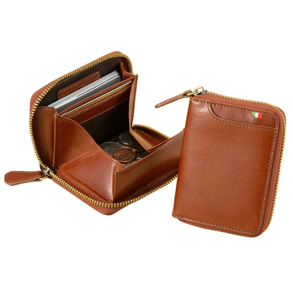 (ミラ○○) Milagro CAS530 イタリア製ヌメ革 横型 ボックス コインケース 財布 小銭入れ [テラローザシリーズ][BESPOKE ビスポーク]