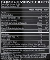 Cellucor - C4 Fitness Training Pre-Workout Supplement for Men and Women - Enhance Energy and Focus with Creatine Nitrate and Vitamin B12, Icy Blue Razz, 30 Servings by Cellucor