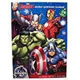 2016 Christmas Advent Holiday Countdown Calendar with 24 Milk Chocolates (Marvel Avengers)