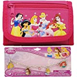 Disney Princess Wallet and Bracelet