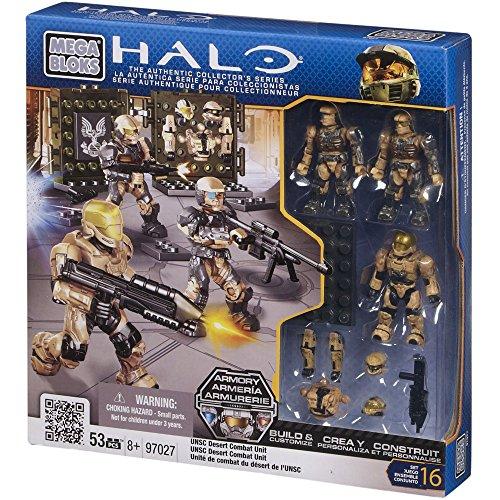 Mega Bloks Halo UNSC Desert Combat Unit