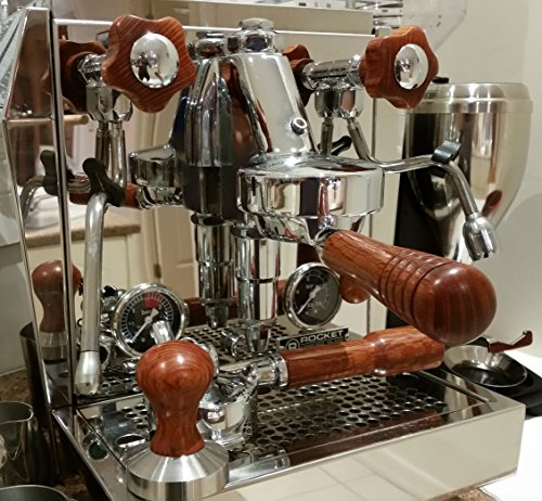 Rocket Giotto Handmade Australian Hardwood Parts Set (Australian Sheoak) (Wega Coffee Machines compare prices)