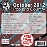 All Star Karaoke October 2012 Pop and Country Hits B (ASK-1210B)