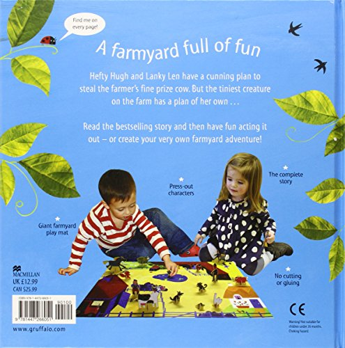What the Ladybird Heard Read and Play Farm (Read & Play)