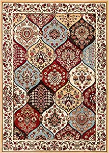 Well Woven Wentworth Panel Ivory Traditional 3'11'' X 5'3'' Traditional Rectangular Rug 54772