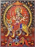 DollsofIndia Bhagawati - (Poster with Glitter) - 24 x 18 inches