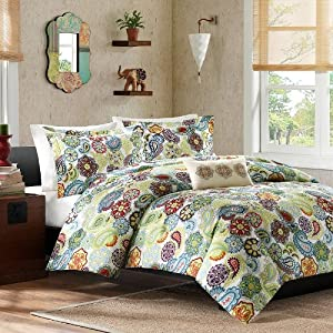 Tamil Comforter Set Size: Twin / Twin Extra Long