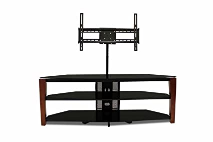 TechCraft LAES60W Solid Oak Wood TV Stand