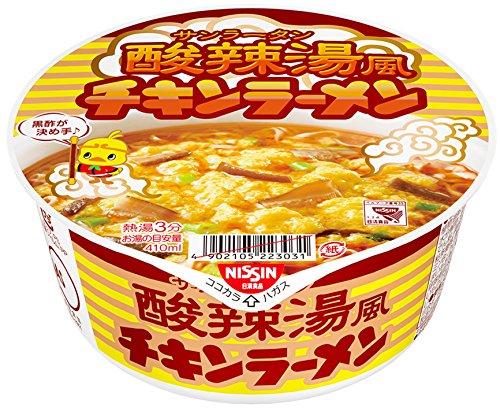 日清 チキンラーメン酸辣湯風 92g×12個