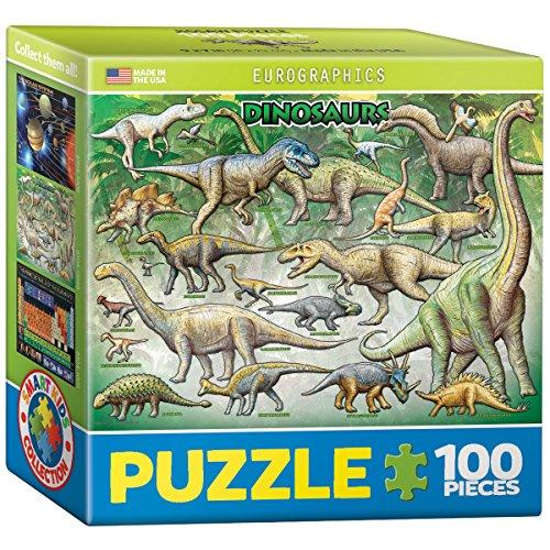 EuroGraphics Dinosaurs Mini Puzzle (100-Piece)