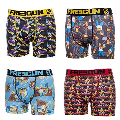 Freegun -  Boxer  - Uomo multicolore Small