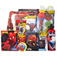 Easter Gift Baskets Full of Fun and Game Ideal for Boys Under 9 Presented By Spiderman Hero