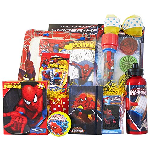 18 fun geeky easter gift ideas for kids spiderman activity easter gift negle Images