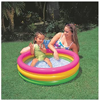 Intex Sunset Glow Baby Pool (34in x 10 in)