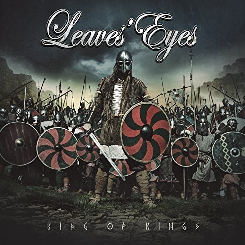 Vinilo : Leaves' Eyes - King Of Kings (Gatefold LP Jacket, Colored Vinyl, Red)