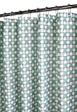Park B. Smith Urban Tiles Shower Curtain, Aquamarine