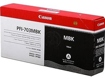 Canon Imageprograf IPF 820 (PFI-703 MBK / 2962 B 001) - original - Ink cartridge black matte - 700ml