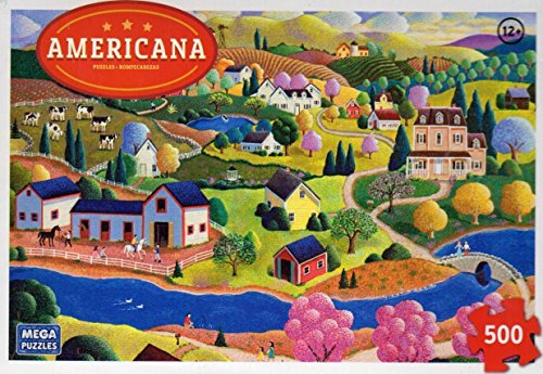Americana Puzzle -Early Spring 500 pc - 1