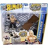 WWE Rumblers Crash Cage Playset with Kane Figure
