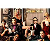 The Big Bang Theory Season 10 Poster For Office And Kids Room - 100yellow