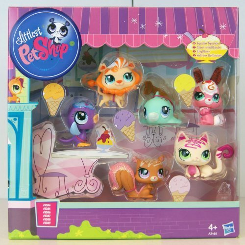Littlest Pet Shop 5010994749439 Sundae Sparkle Collection 6 Pack