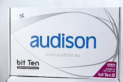 Audison Bit Ten D DSP à 5 canaux avec entrée optique et DRC (dispositif de contrôle à distance)