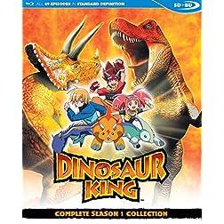 Dinosaur King Complete Season 1 SDBD [Blu-ray]