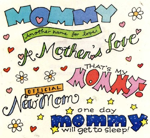 Francis Meyer Inc. Jumbo Mommy Stickers