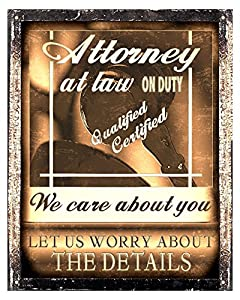 Lawyer attorney gift Sign / office wall office decor 355