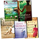 Rosie Thomas Rosie Thomas 5 Books Collection Pack Set RRP: £45.71 (The Kashmir Shawl, Sun at Midnight, Constance, Lovers and Newcomers, Iris and Ruby)