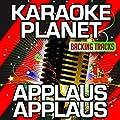 Applaus, Applaus (Karaoke Version) (Originally Performed By Sportfreunde Stiller)
