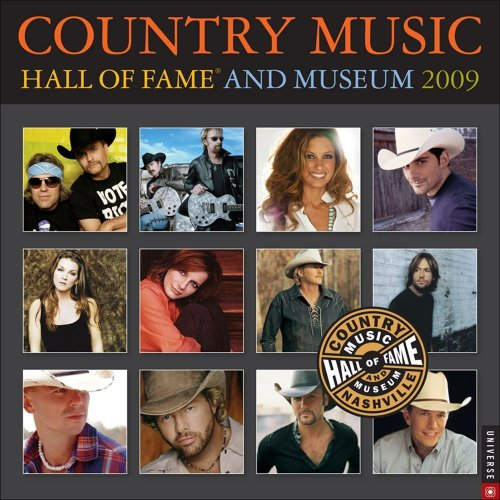 Country Music Hall of Fame and Museum: 2009 Wall Calendar