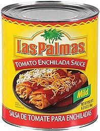 Las Palmas Enchilada Sauce,Tomato, 102 Ounce -- 6 Case